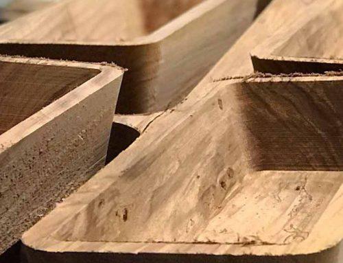 Lavorazione del legno a 5 assi
